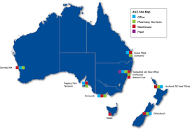 auckland australia map baxter new zealand corporate overview