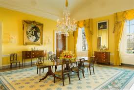 Oval Office Drapes Michelle Obama Decorates Lacquered Life