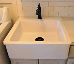 Laundry Room Sinks And Cabinets by Free Standing Laundry Sink Utility Tub Faucet Metal Laundry Tub