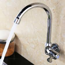 wall mounted kitchen sink faucets on sale cold water wall mounted kitchen sink faucet