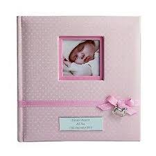 baby girl photo album baby photo albums baby keepsakes memories ebay