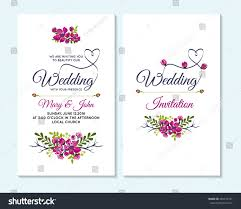 Church Invite Cards Template Wedding Invitation Thank You Card Save Stock Vector 469252391