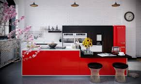 Red Kitchen Backsplash Ideas Red Kitchen Backsplash Ideas U2014 Smith Design Simple But Effective