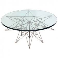 metal base coffee table foter
