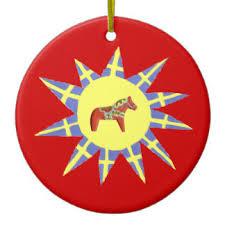 swedish flag ornaments keepsake ornaments zazzle