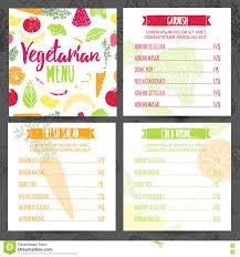 restaurant menu design template brochure royalty free stock