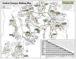 Sac State Campus Map by University Of California Santa Cruz Map California Map