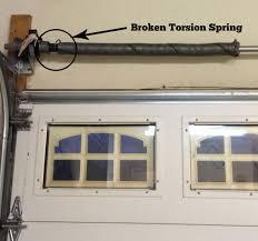 fancy broken torsion spring garage door b78 inspiration for home