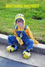 Minion Costumes Halloween Homemade Minion Costume Halloween Honeysuckle Footprints