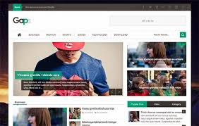 gaps responsive blogger template themexpose