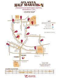 atlanta half marathon 2014 2015 date registration route map