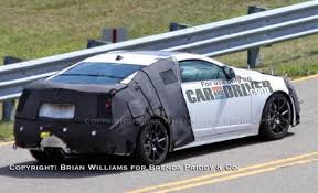 2010 cadillac cts performance 2010 cadillac cts v coupe spied car and driver