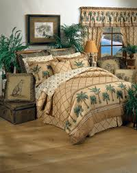 bedroom comforters and bedspreads design with brown curtain and