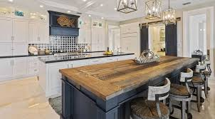 rustic blue gray kitchen cabinets white kitchen with rustic blue island cabinets