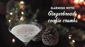 gingerbread martini recipe rumchata gingerbread martini youtube