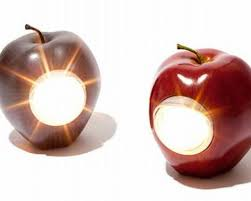 lamp awesome lovely apple cool college lamps design wonderful of