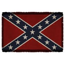 Rebel Flag Ford Old Confederate Flag Southern Rebel Woven Throw Home Decor
