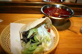 review shawarma pita from shawarma grill house in copenhagen