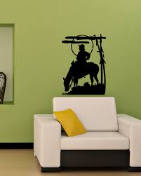 compare prices on cowboy murals online shopping buy low price cowboy horse western design cute wall vinyl sticker decals living room art mural sofa background home decor quality decal la672