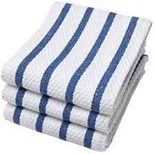 now designs kitchen towels amazon com now designs basketweave kitchen towel set of 3 royal