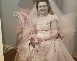 50s wedding dresses 50s wedding dress etsy