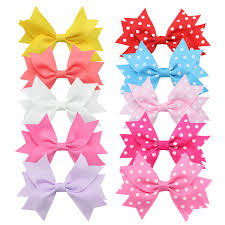 baby ribbon 10pcs lot 3 inch grosgrain ribbon bows for baby girl boutique