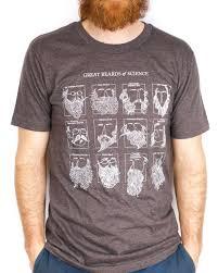 great beards of science t shirt scientist beard shirt nerd