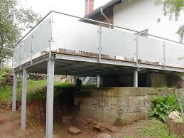 stahlbau balkone edelstahl stahl balkone und terrassen metallbau schlosserei schäfer