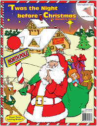 wholesale coloring books twas the night before christmas regular