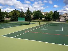 Backyard Tennis Courts Basketball Court Construction Tennis Courts Multi Game Courts