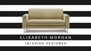 girly interior design and decorator business cards girly