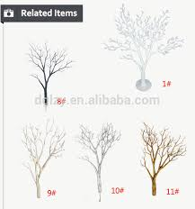White Decorative Branches High Quality White Tree Wedding Decor Artificial White Dry Tree