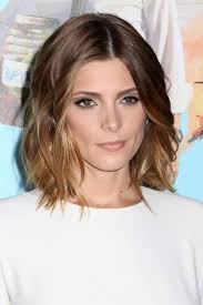 ashley greene with beautiful ombre medium haircut trends from celebs for 2017 new hairstyles 2017