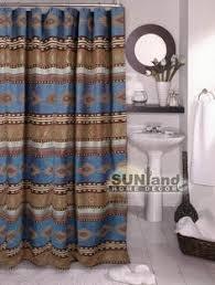Western Style Shower Curtains Desert Horizon Southwest Shower Curtain Recreational Vehicles