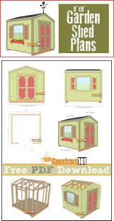 Backyard Sheds Plans 9531 Best Building A Shed Images On Pinterest Garden Sheds