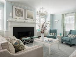 Soft And Subtle Duck Egg Blue Décor Is Chic And Stylish Its - Blue family room ideas