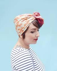 how to tie a headscarf like a vintage housewife babble