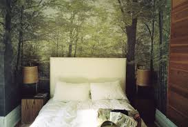 Wallpaper Master Bedroom Ideas Whimsical Master Bedrooms With Forest Wallpaper U2013 Master Bedroom Ideas