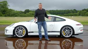 porsche matte white tgtv s23 matt leblanc in the porsche 911 r top gear
