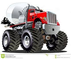 monster truck videos free download cartoon mixer monster truck stock vector image 41928949