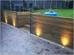 outdoor fence lighting ideas outdoor fence lights inspire intriguing contemporary outdoor