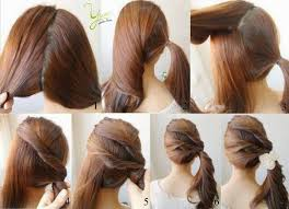 step bu step coil hairstyles easy hairstyles for long hair step by step hairstyles portal