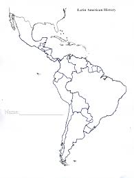 Latin And South America Map by Blank Map Of The Americas Roundtripticket Me