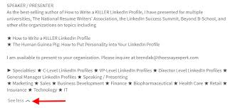 How To Put Your Linkedin Profile On Your Resume The Incredible Disappearing Linkedin Profile The Essay Expert