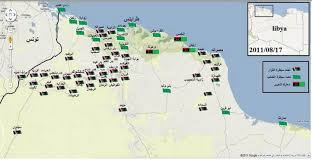 Map Of Libya Monitor On Massacre Marketing Libyan Observatory For Human Rights
