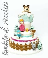 masha orso medvjed masha bear torte