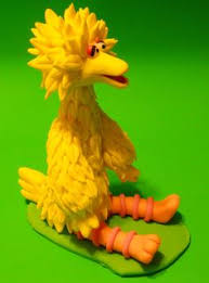 sesame cake toppers big bird fondant topper kirsty eggleston cake design