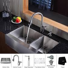 Kraus Kitchen Faucet Stainless Steel Kitchen Sink Combination Kraususa Com