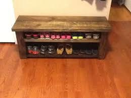 Bench With Shoe Storage Best 25 Shoe Storage Benches Ideas On Pinterest Entry Storage Diy