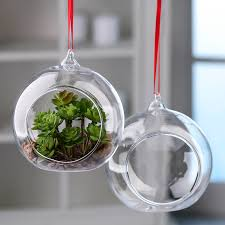 hanging glass terrarium ornaments christmas ornaments
